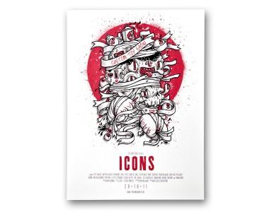 Drew Millward - 'Icons' Print