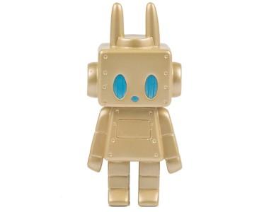 P.P.PUDDING - Bunny Robot - Gold