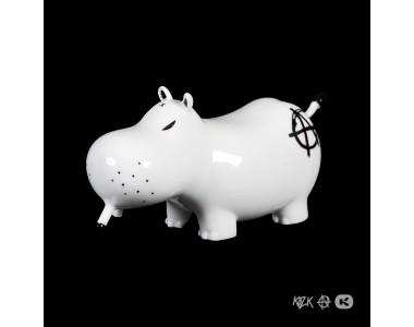 Frank Kozik - Potamus Porcelain - Black
