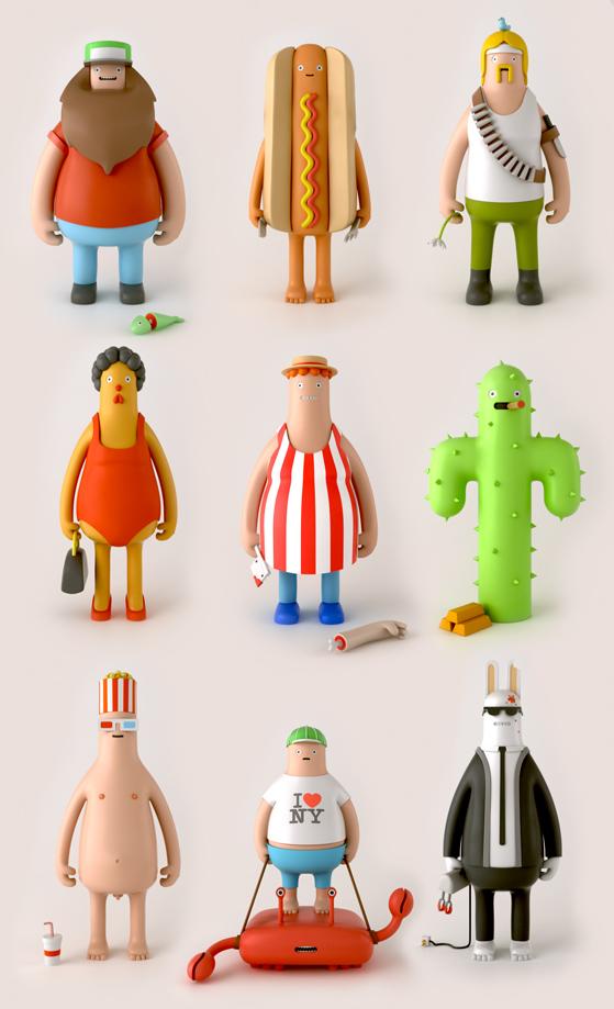 Yum Yum series 1 designer toys